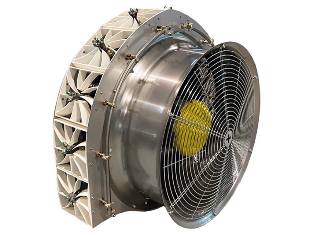 atomizador arrastrado vortex arcum